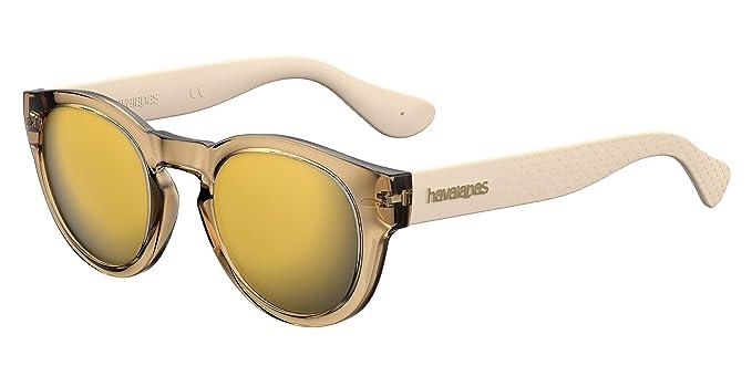 Havaianas TRANCOSO/M Gafas de sol, Dorado (Gold), 49 Unisex Adulto