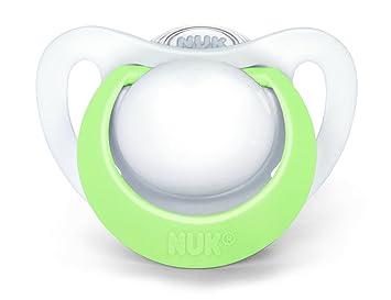 Amazon.com: NUK 1 Pack Genius Sin BPA Chupete de silicona, 0 ...