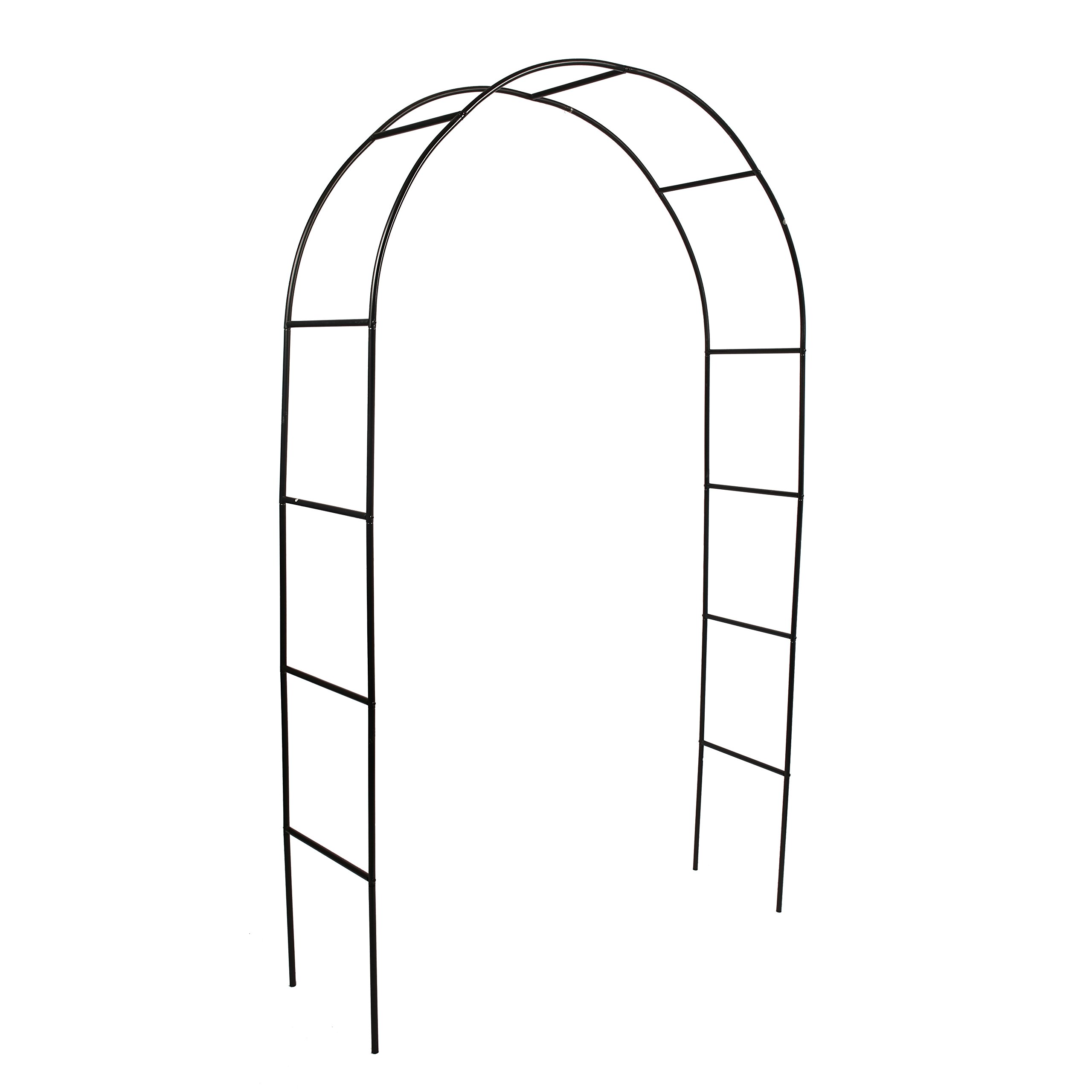 Better Garden Steel Garden Arch, 7'8'' High x 4'5'' Wide, Garden Arbor for Various Climbing Plant, Outdoor Garden Lawn Backyard