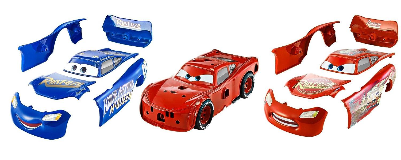 Cars - Coche Tuning Rayo Mcqueen, 26 cm (Mattel FCV95): Amazon.es: Juguetes y juegos