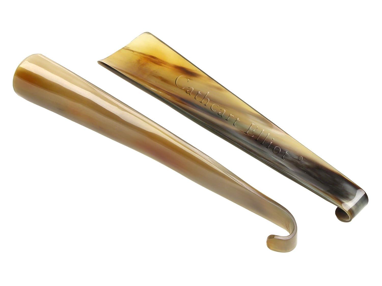 Cathcart Elliot Unisex-Adult Real Horn 9 Inch Shoe Horns