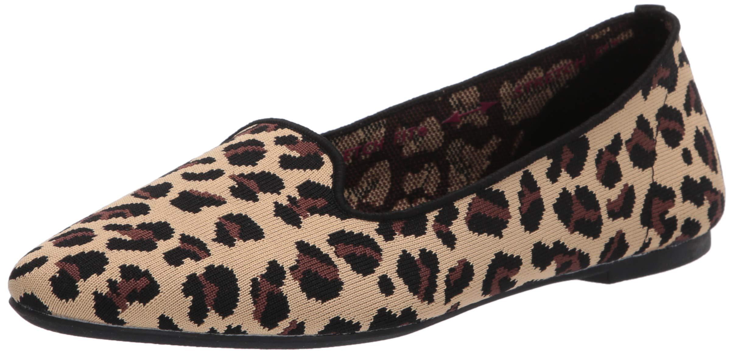 Skechers Women's Cleo-Leopard Loafer