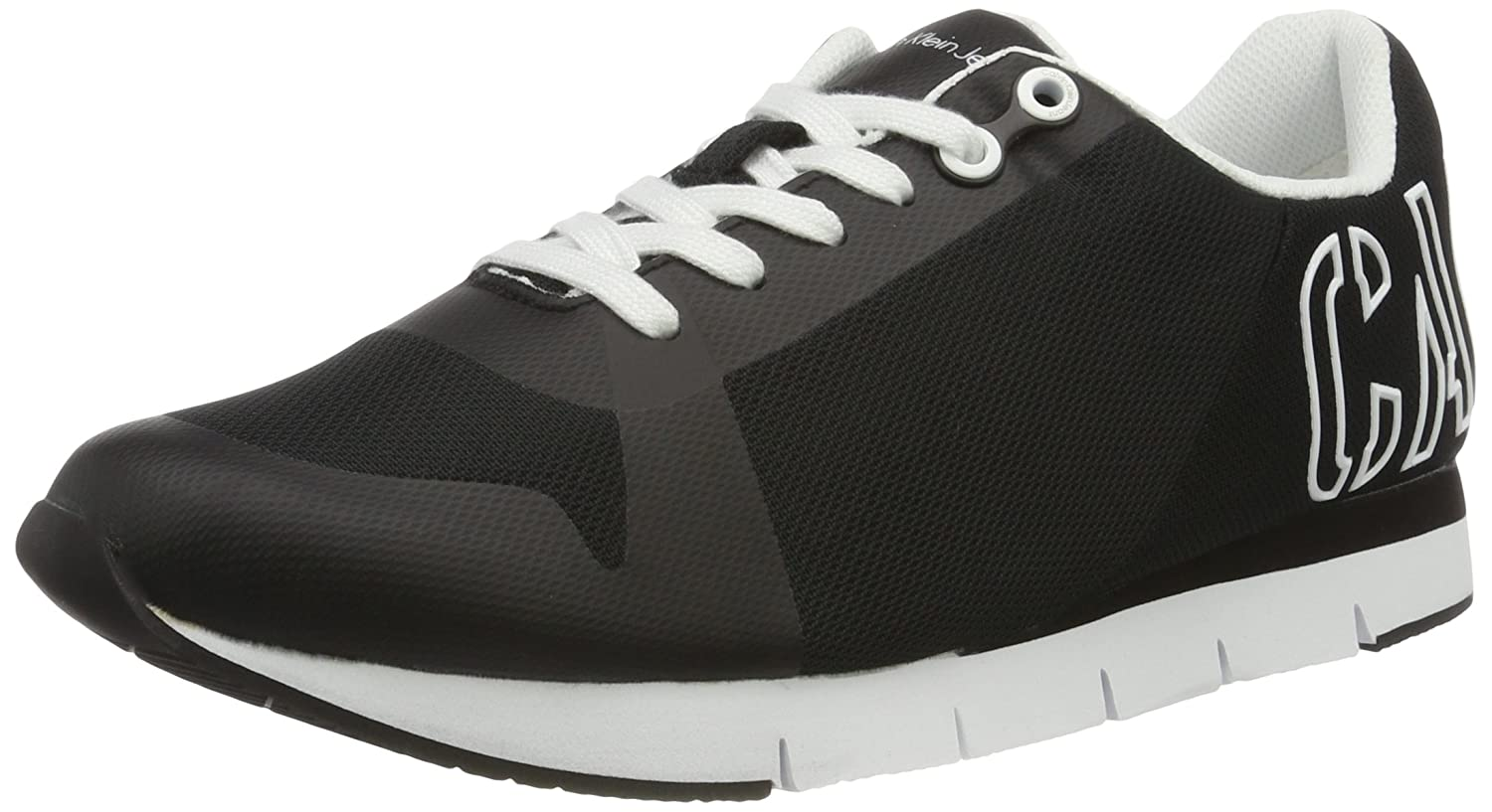 Jabre Mesh/Hf, Sneakers Basses Homme, Multicolore (Bwy), 45 EUCalvin Klein Jeans
