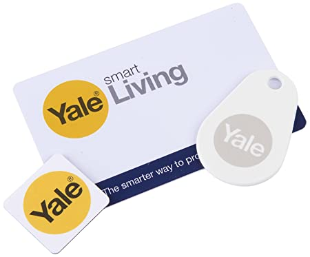 Yale Smart Door Lock Accessory Bundle Key Card Key Tag And Phone