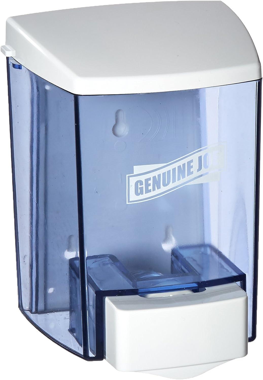 Genuine Joe Joe 30 oz Soap Dispenser, 30 fl oz (887 mL), Clear: Home & Kitchen
