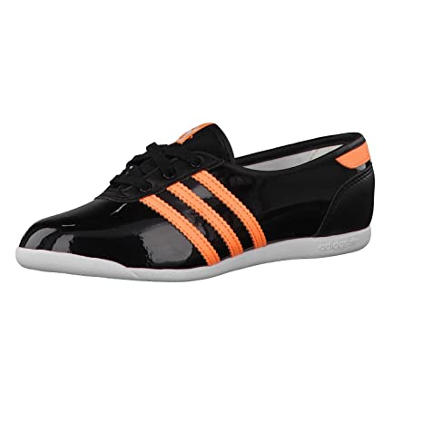 adidas niña Bailarina Forum Slipper 2.0 K Core Black/Flash Naranja/Core Black 30