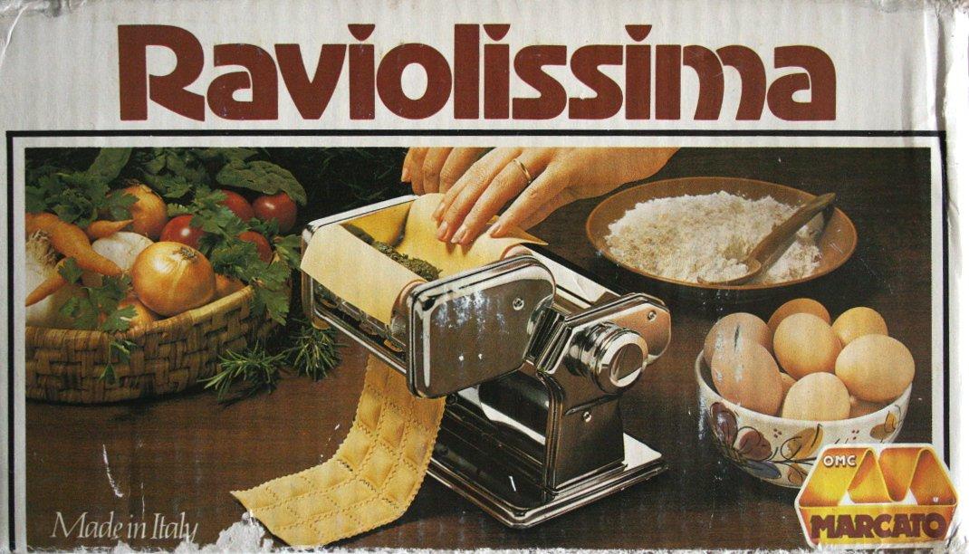 Amazon.com: OMC Marcato Raviolissima Ravioli Machine Attachment ...