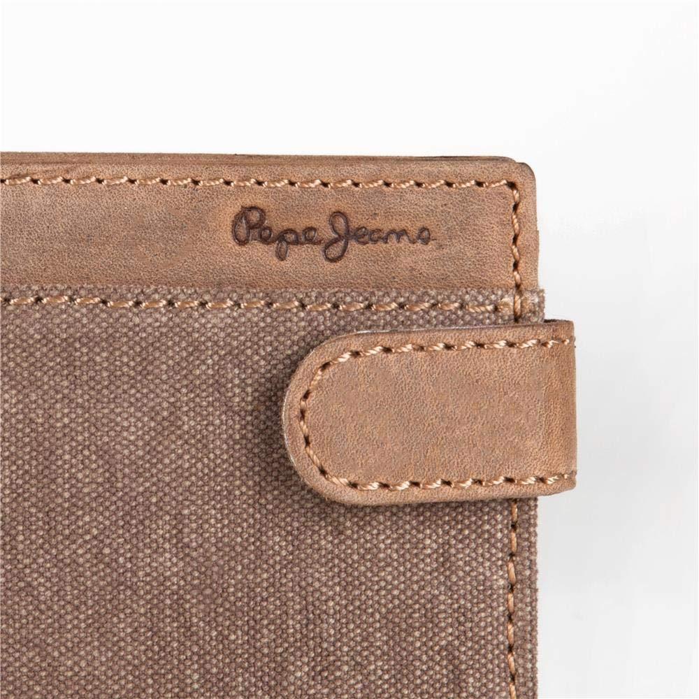 Pepe Jeans 7423361 Billy Monedero 11 cm, 0.09 litros, Marrón