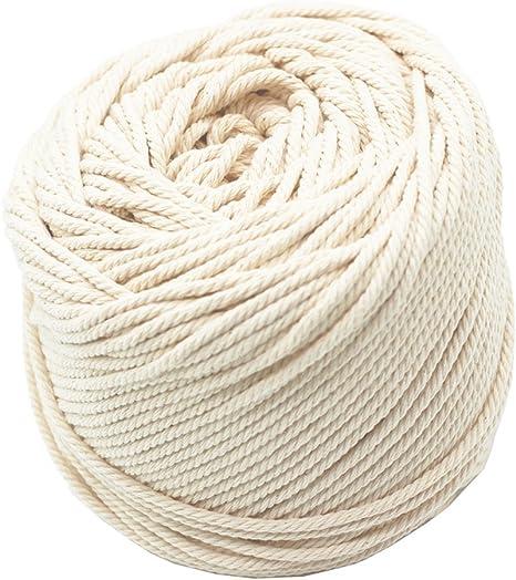 Amazon Com Macrame Cord 3mm 109 Yard 100 Natural Cotton Wall