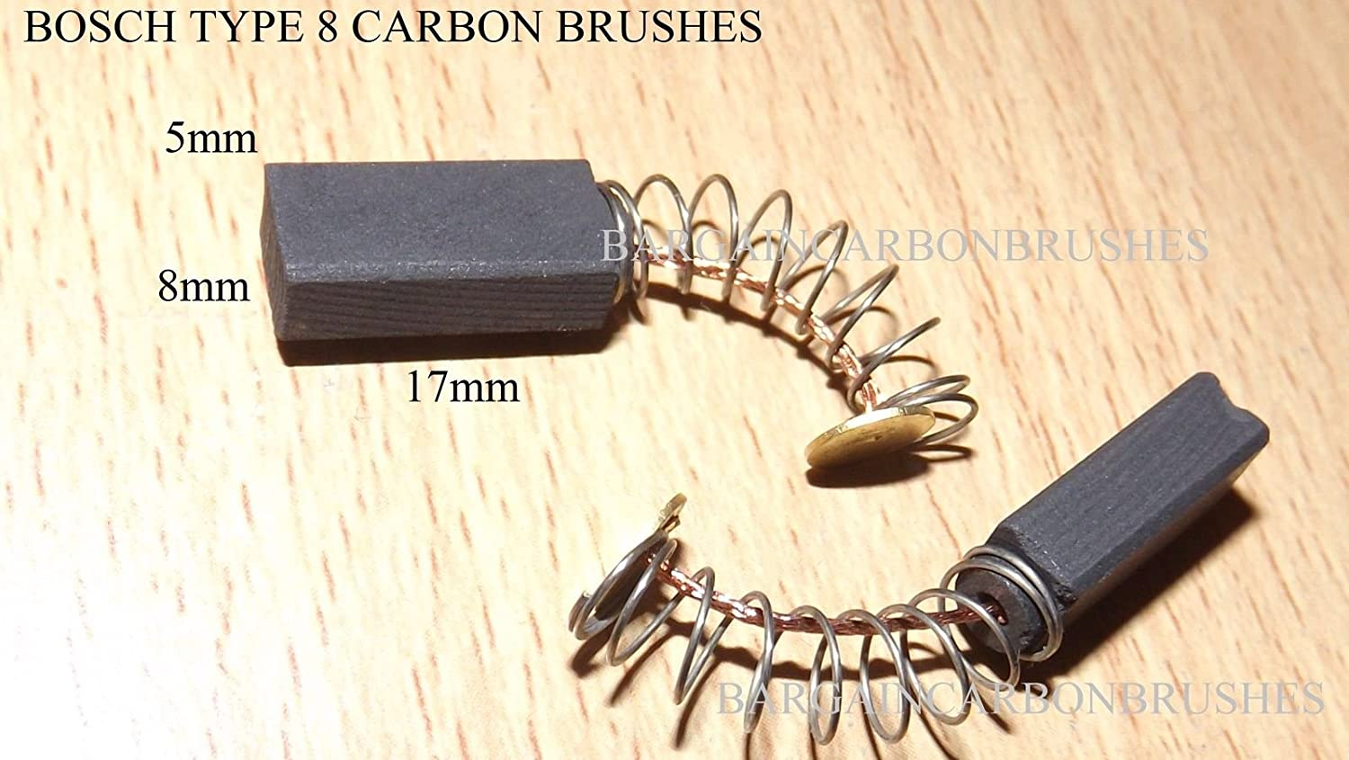 BOSCH CARBON BRUSHES PSB 750-2RE PSB 600 RE PSB 650 816//04 607014 2604321930 BS4