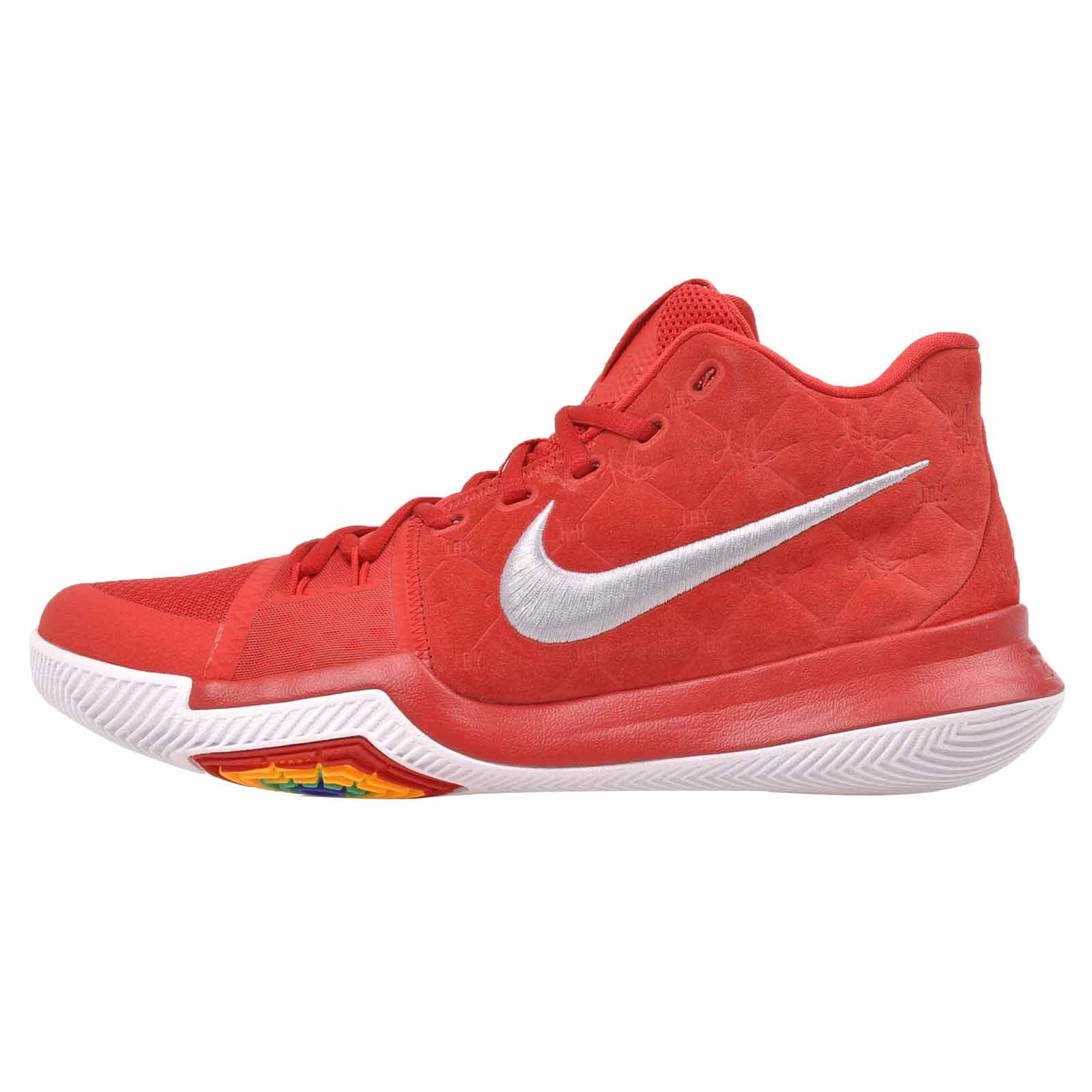 4da8604cde9c3 Nike Unisex Kyrie Flytrap Basketball Shoes (12 M US, University  Red/University Red)