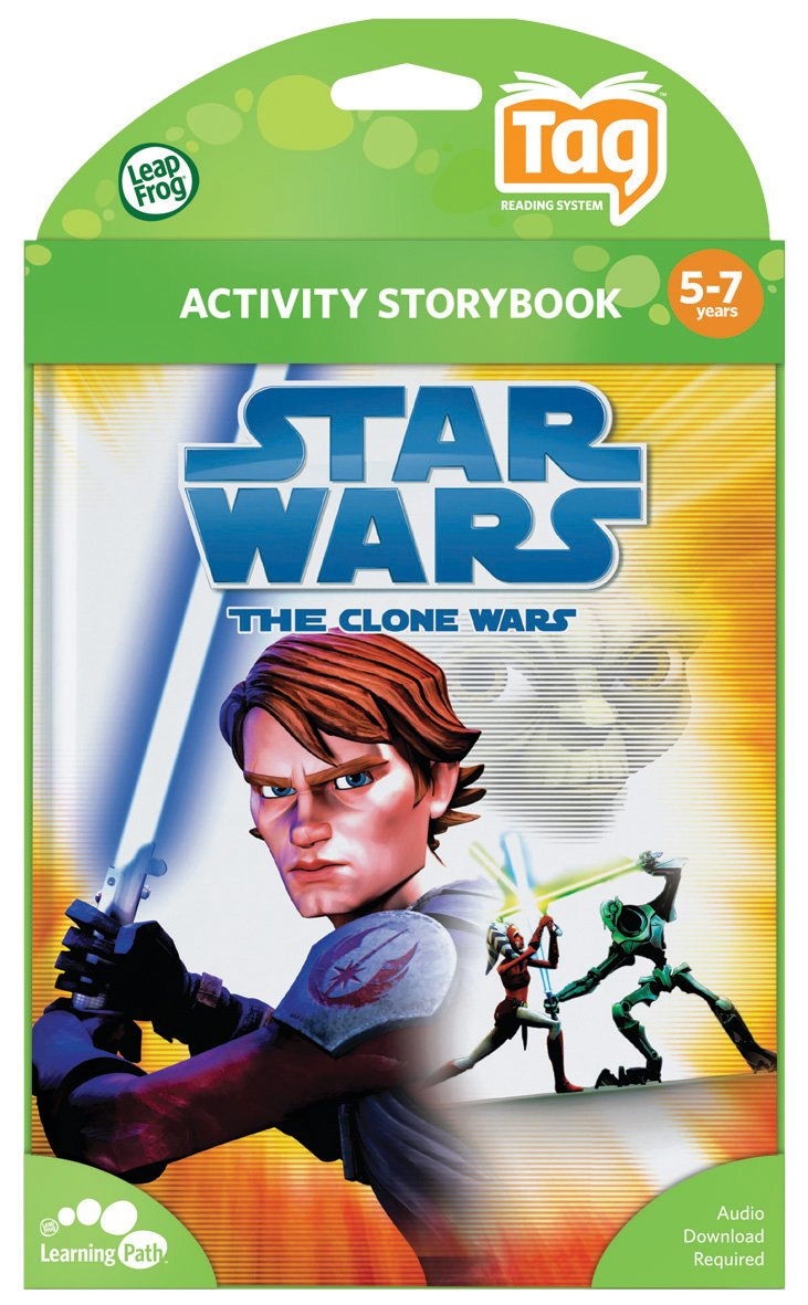 Leapfrog Tag Activity Storybook Star Wars: The Clone Wars: Rescue In The Sky by LeapFrog (Image #3)