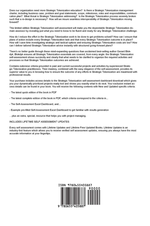 strategic tokenization second edition gerardus blokdyk