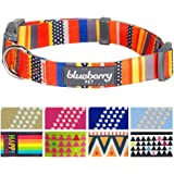 Blueberry Pet 8 Patterns Geometric Designer Dog Collars & 7 Patterns Personalized Collars, Matching Leash & Harness Available Separately