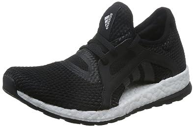 adidas Pureboost X, Chaussures de Running Femme, Noir (Negbas/Negbas/Grpudg), 39 1/3 EU