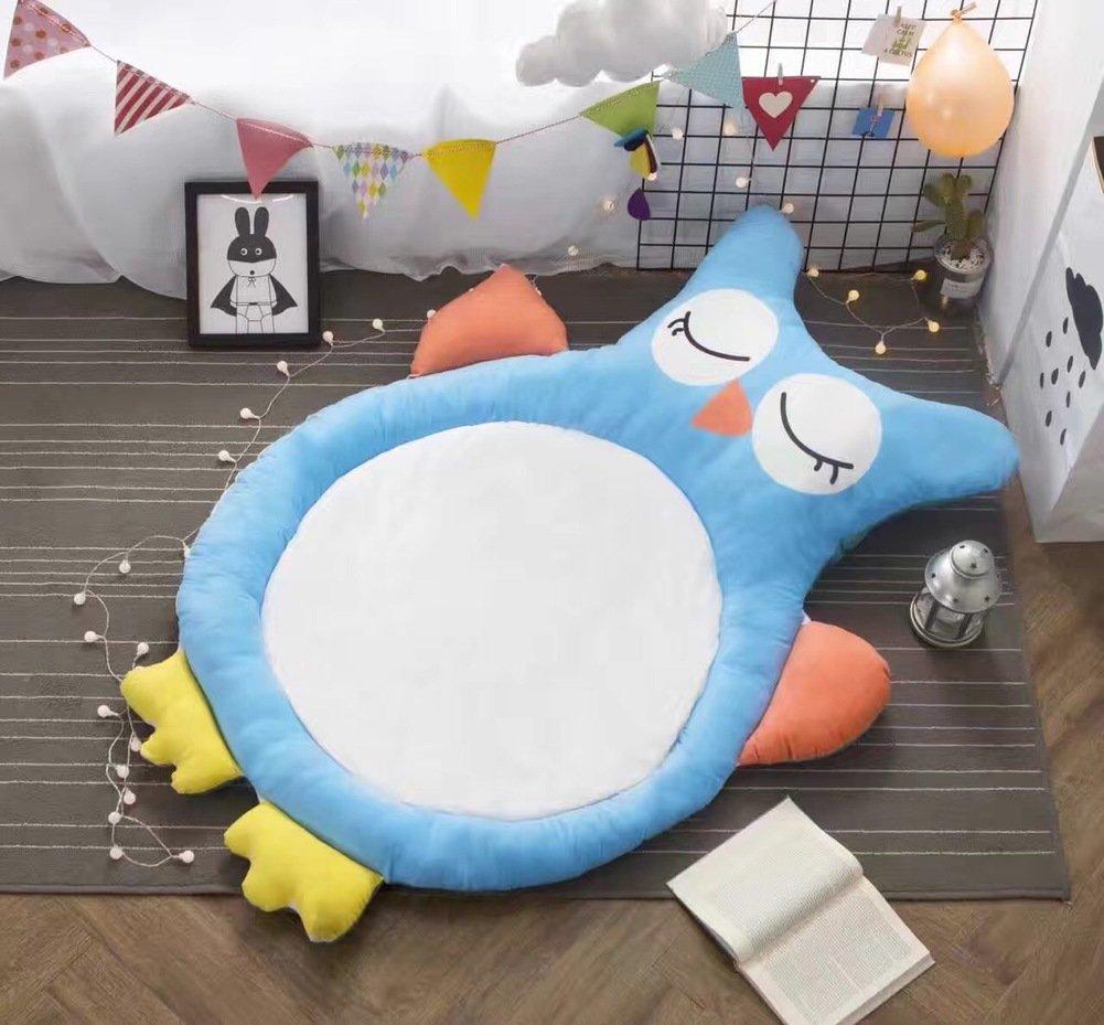 HOMMEMAT Baumwolle Baby Crawling-Matte,Verdicken sie Folding Runde Mat Baby-spielMatte Für einen rutschfesten Teppich 59  d-E E