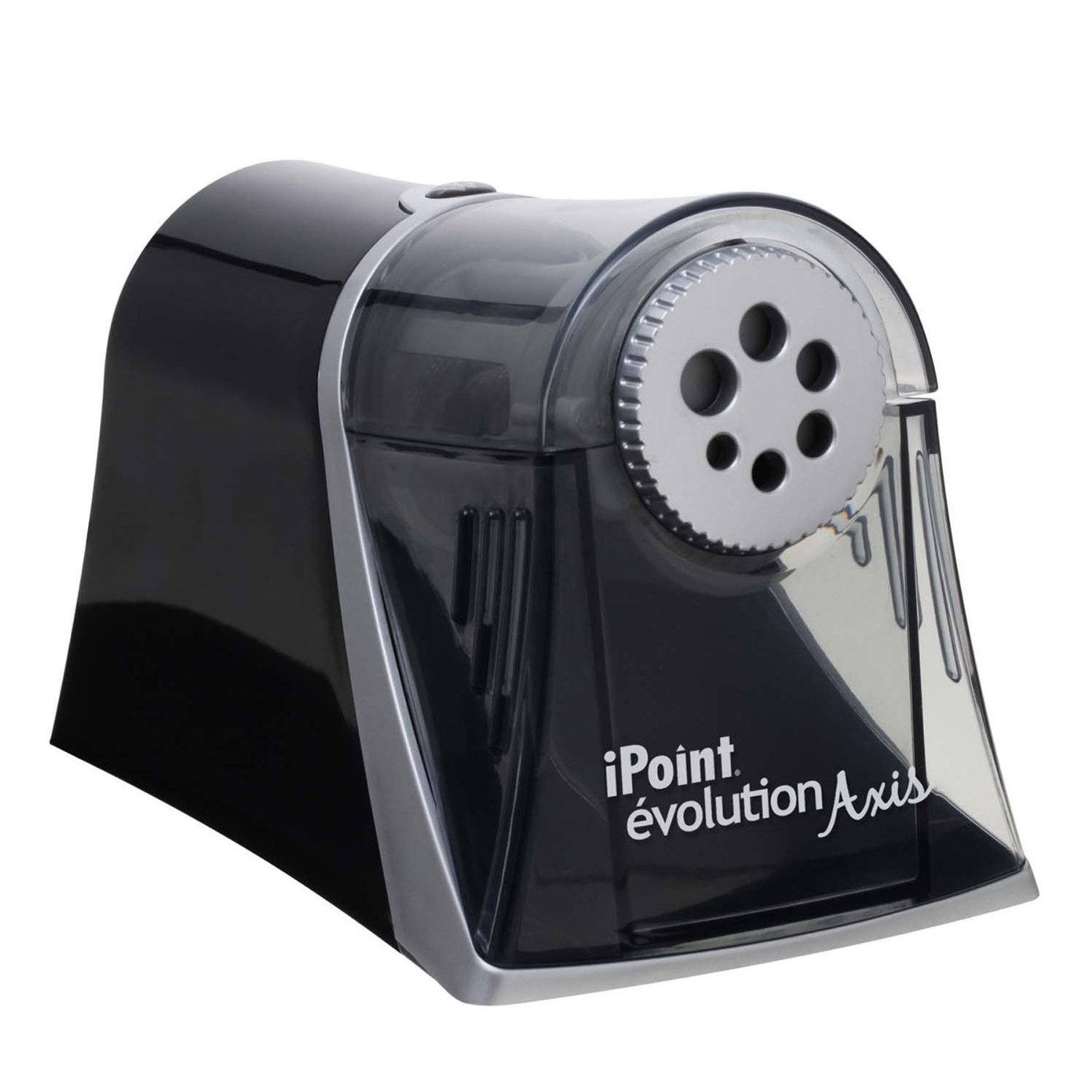 Westcott Axis iPoint Evolution Electric Heavy Duty Pencil Sharpener, Case of 6 (15509) by Westcott