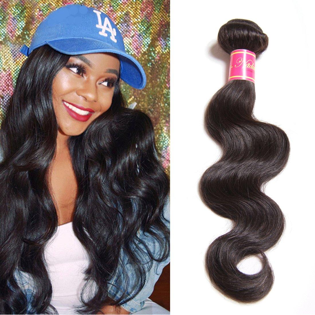 Amazon Nadula Hair 1 Bundle Brazilian Virgin Human Hair Body