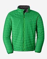 Eddie Bauer Men's IgniteLite Reversible Jacket, Clover L