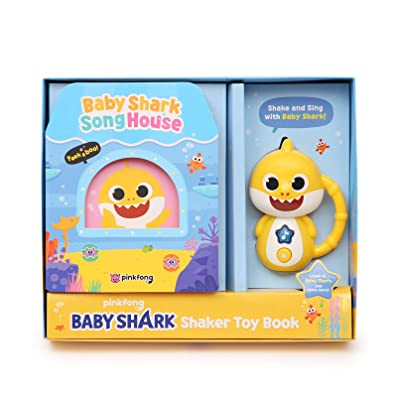 Pinkfong Baby Shark Official Shaker Toy Book: Toys & Games