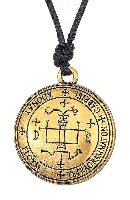 Jewelry Men Sigil of Archangel Michael Enochian Solomon