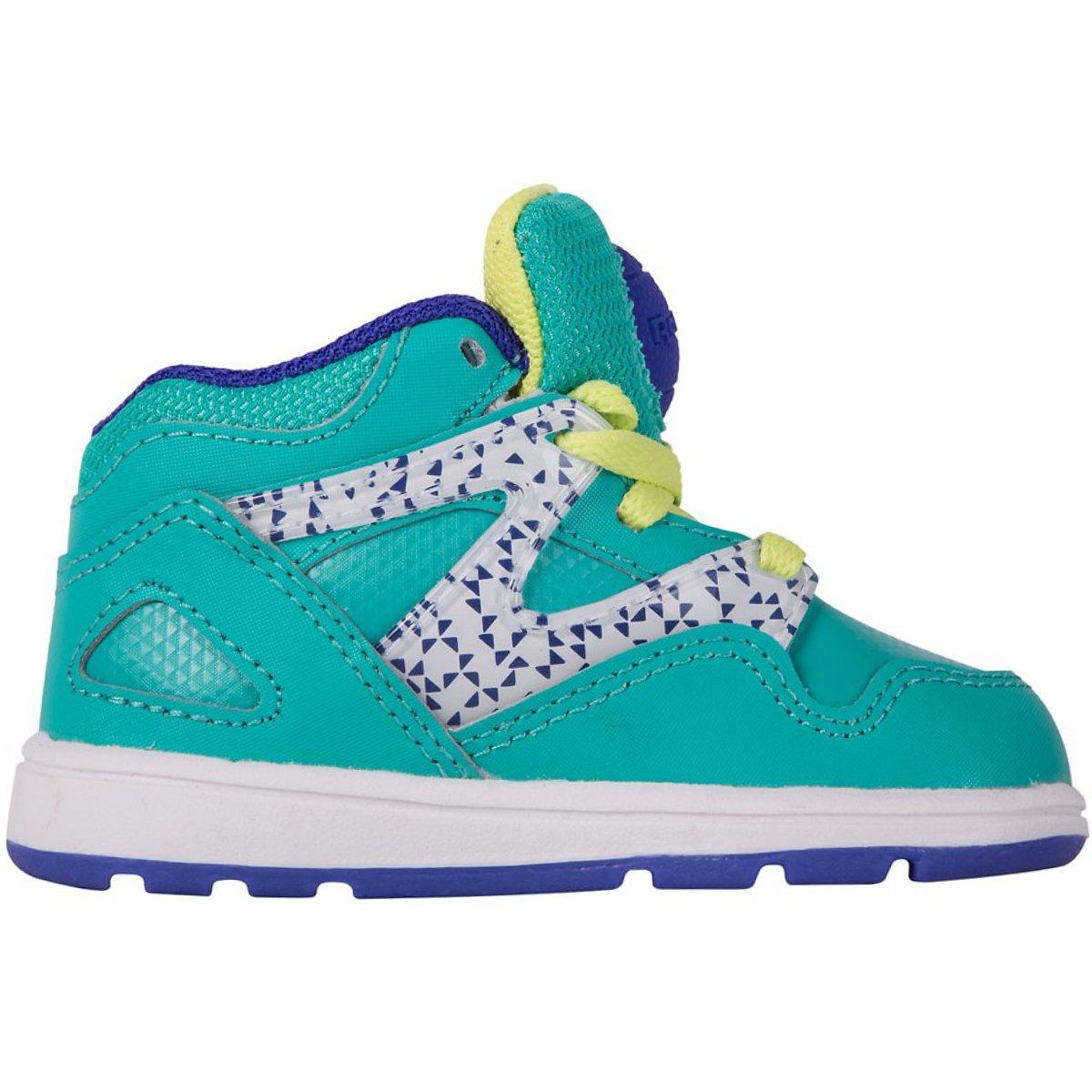 3f17438715ea Reebok Versa Pump Omni Lite Kids Shoes Turquoise Size  7.5  Amazon.co.uk   Shoes   Bags