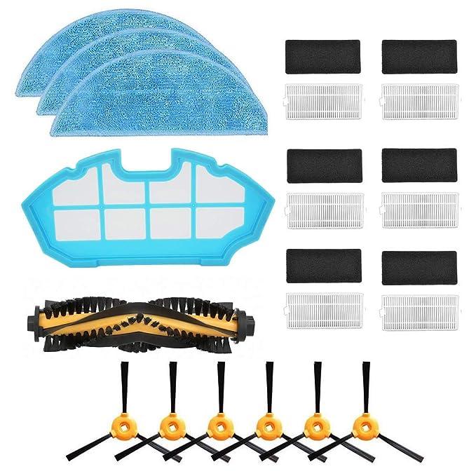 ... Laterales + 3 * Limpiar + 1 * Cepillo Principal + 1 * Filtro primario, Aspirador Robot Compatible Cecotec Conga Excellence 990: Amazon.es: Hogar