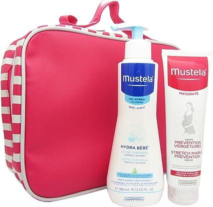 Mustela maternidad bolsa Pack ofrecen Stretch Prevención + Hydra bebé: Amazon.es: Belleza