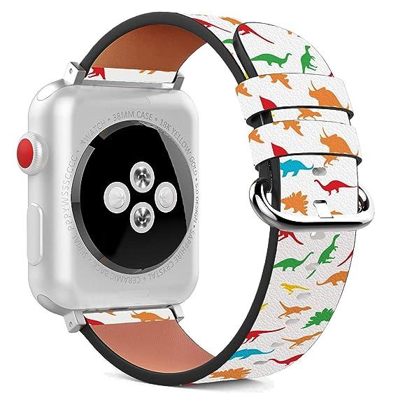 Amazon.com: Compatible con Apple Watch – Pulsera de cuero de ...