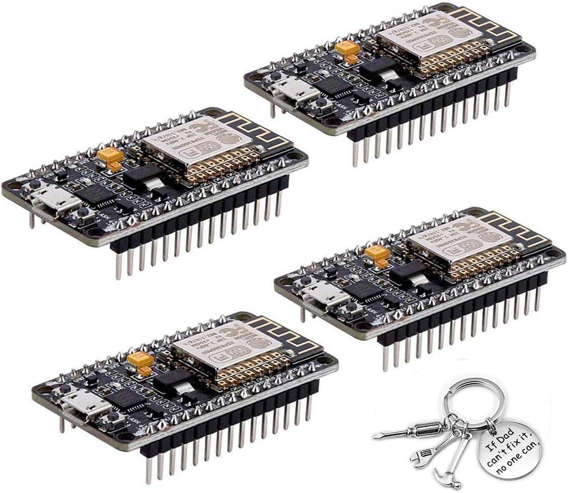 NodeMcu Lua WIFI Internet Things Development Board Basado en ESP8266 CP2102 Módu