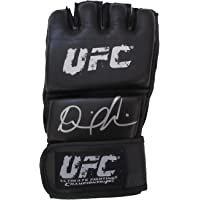 Daniel Cormier Autographed UFC Distress Fight Glove W/PROOF, Picture of Daniel Signing For Us, Ultimate Fighting Championship,… photo