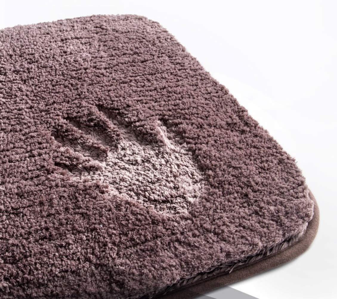 Nouler Volltonfarbe Fußmatten Home Wohnzimmer Schlafzimmer Teppich Bad Wasseraufnahme Rutschfeste Rutschfeste Rutschfeste B07MQQNH4N Duschmatten 6ee237