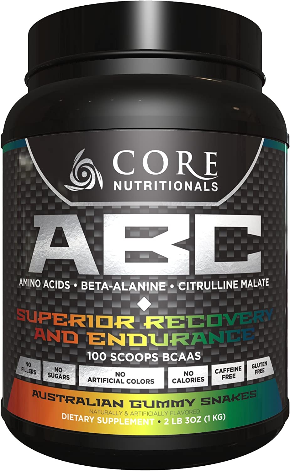 Core Nutritionals Core ABC Australian Gummy Snakes 2 lb. 3oz