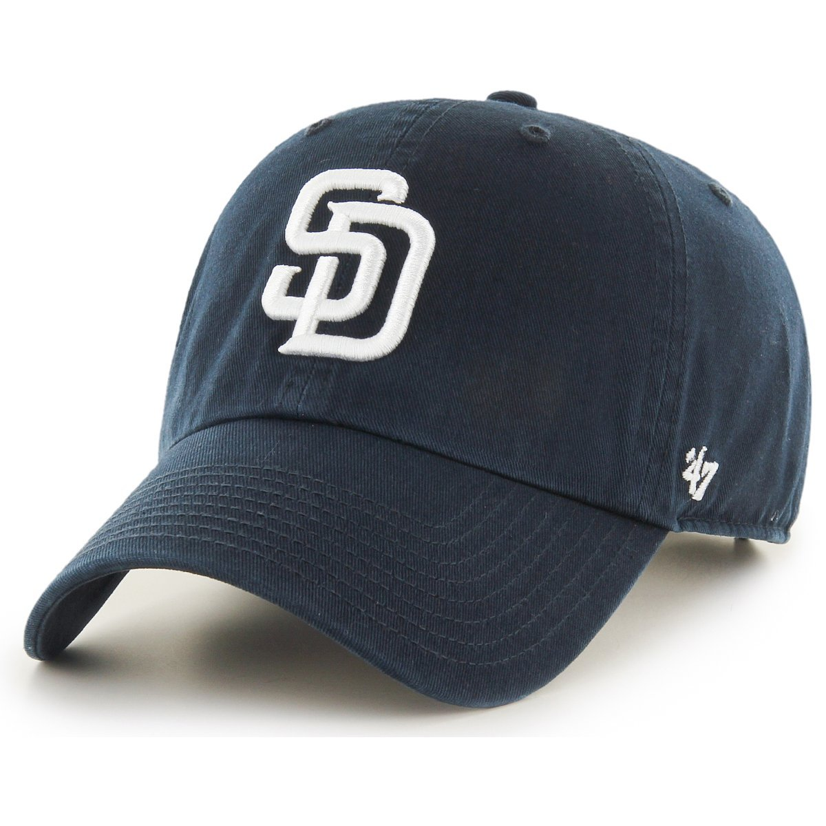 '47 Brand Adjustable Cap CLEAN UP San Diego Padres navy
