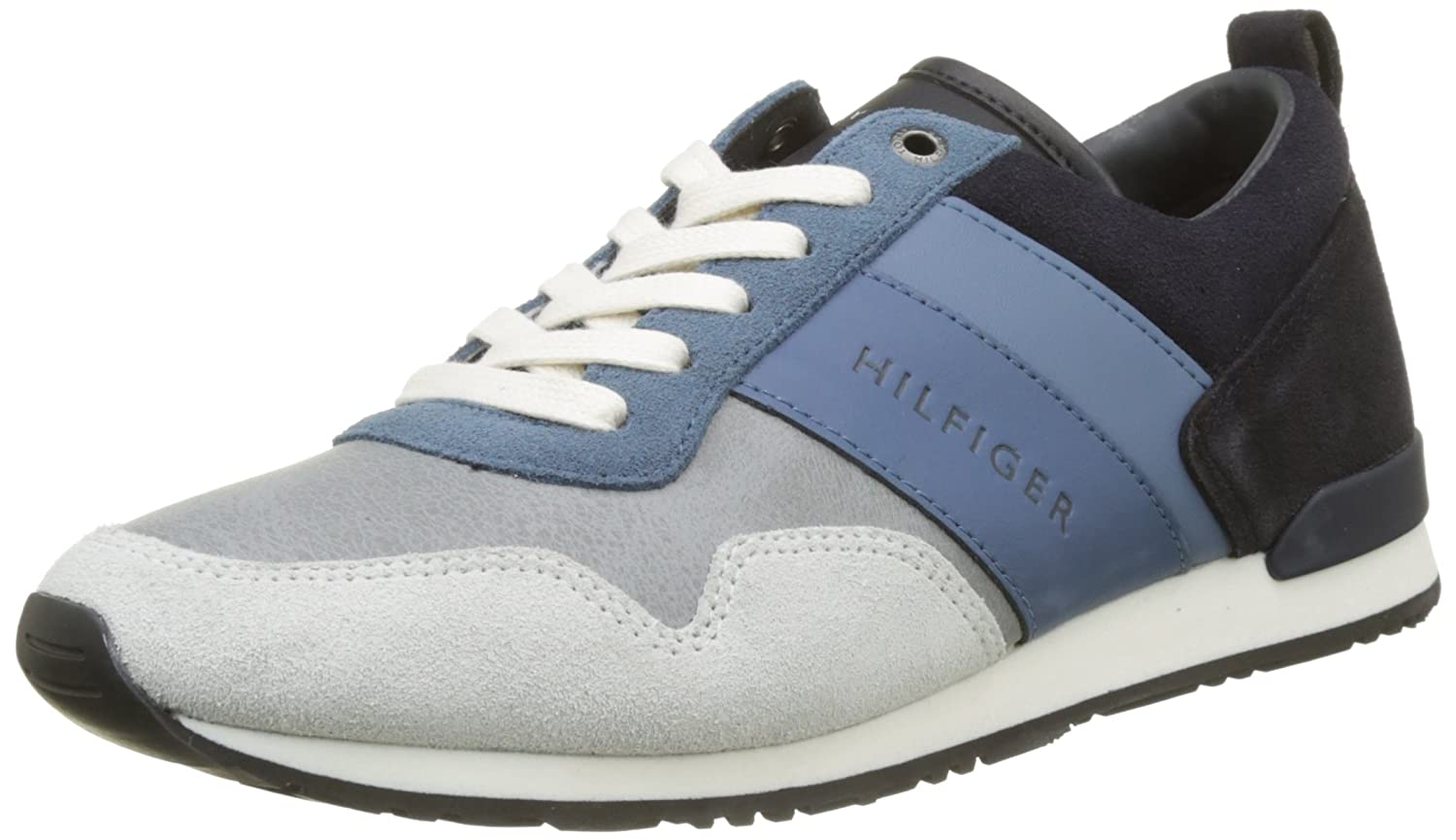 Tommy Hilfiger Iconic Color Mix Runner, Zapatillas para Hombre