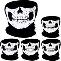 5 Piezas de Pasamontañas de Calavera Máscara Facial