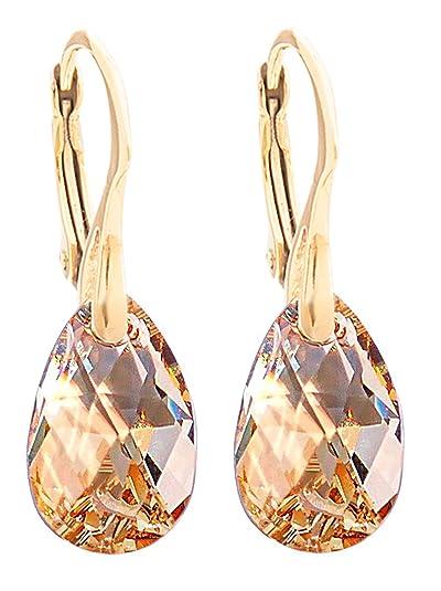 10d6c9312291 Pendientes de cristales Swarovski® en forma de pera
