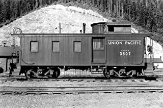 product image for Washington - Union Pacific Caboose - OWR&N Railroad 10862 (24x36 Signed Print Master Art Print - Wall Decor Poster)