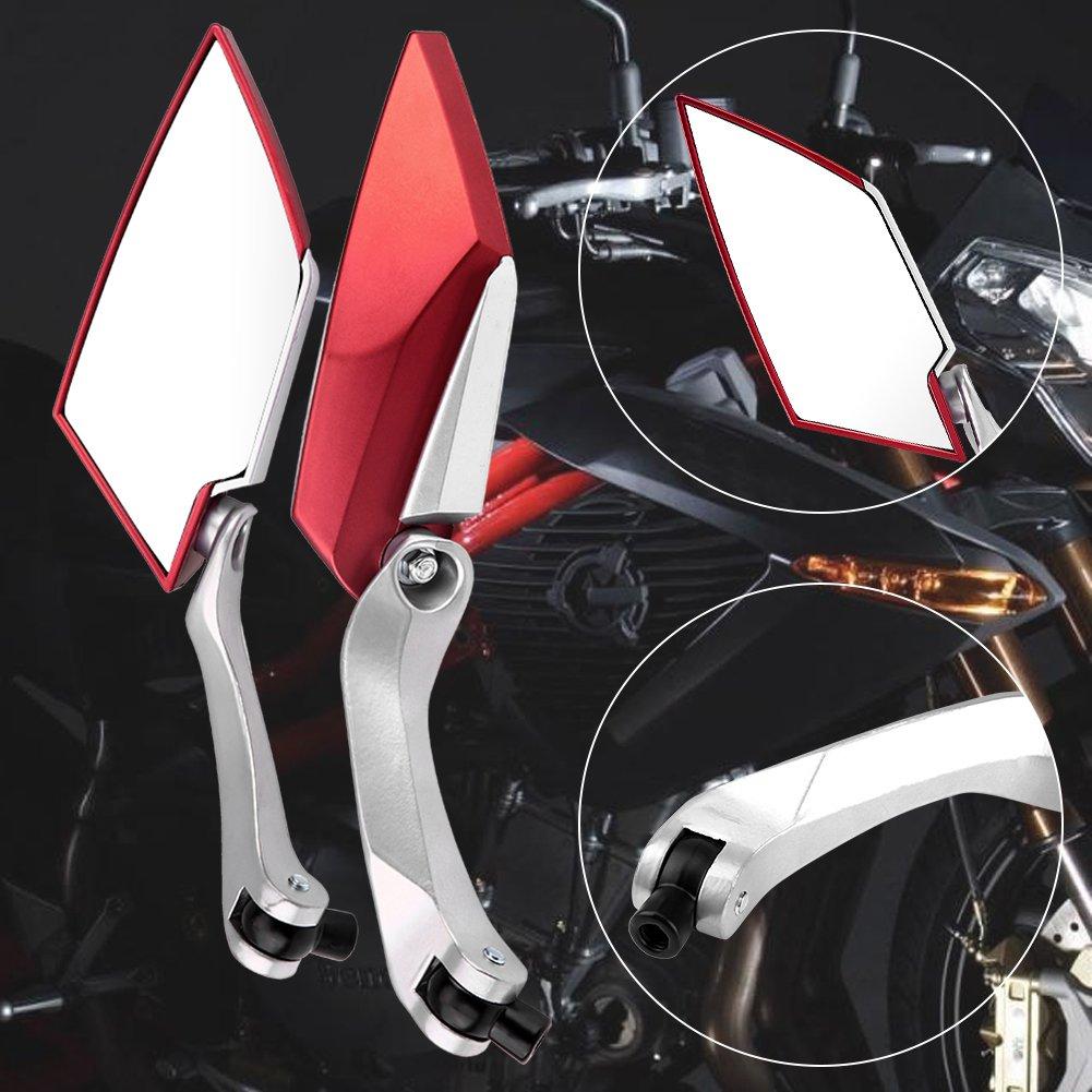 Explorer Race GT 50 Rückspiegel Spiegel Set ATU GT50 Sport//Rot