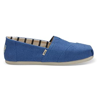 7e00d688ed8ab Amazon.com : TOMS Women's Alpargata Heritage Shoes Blue Crush : Shoes