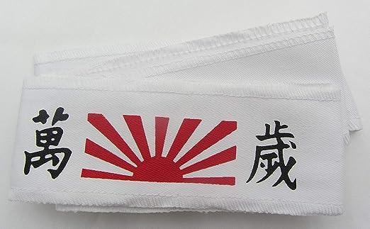 Hachimaki, Banzai Nuevo Takashi Kendo Tenugui Samurai 200cm ...