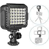 Neewer CN-LUX360 3200K-5600K Lámpara Regulable de Luz de Video LED para Canon Nikon Cámara DV Videocámara