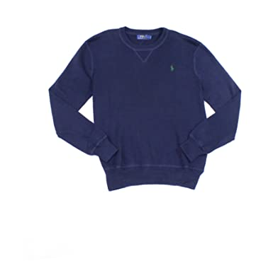 ffd9b075 Polo Ralph Lauren Mens Combed Long Sleeves Crewneck Sweater at Amazon Men's  Clothing store: