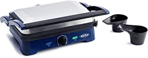 Blue Diamond CC002858 Sizzle Griddle Electric Grill Pan, One Size