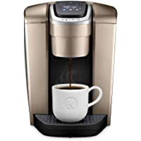 Keurig K-Elite Coffee Maker, Single Serve K-Cup Pod Coffee Brewer, With Iced Coffee Capability, Brushed Gold