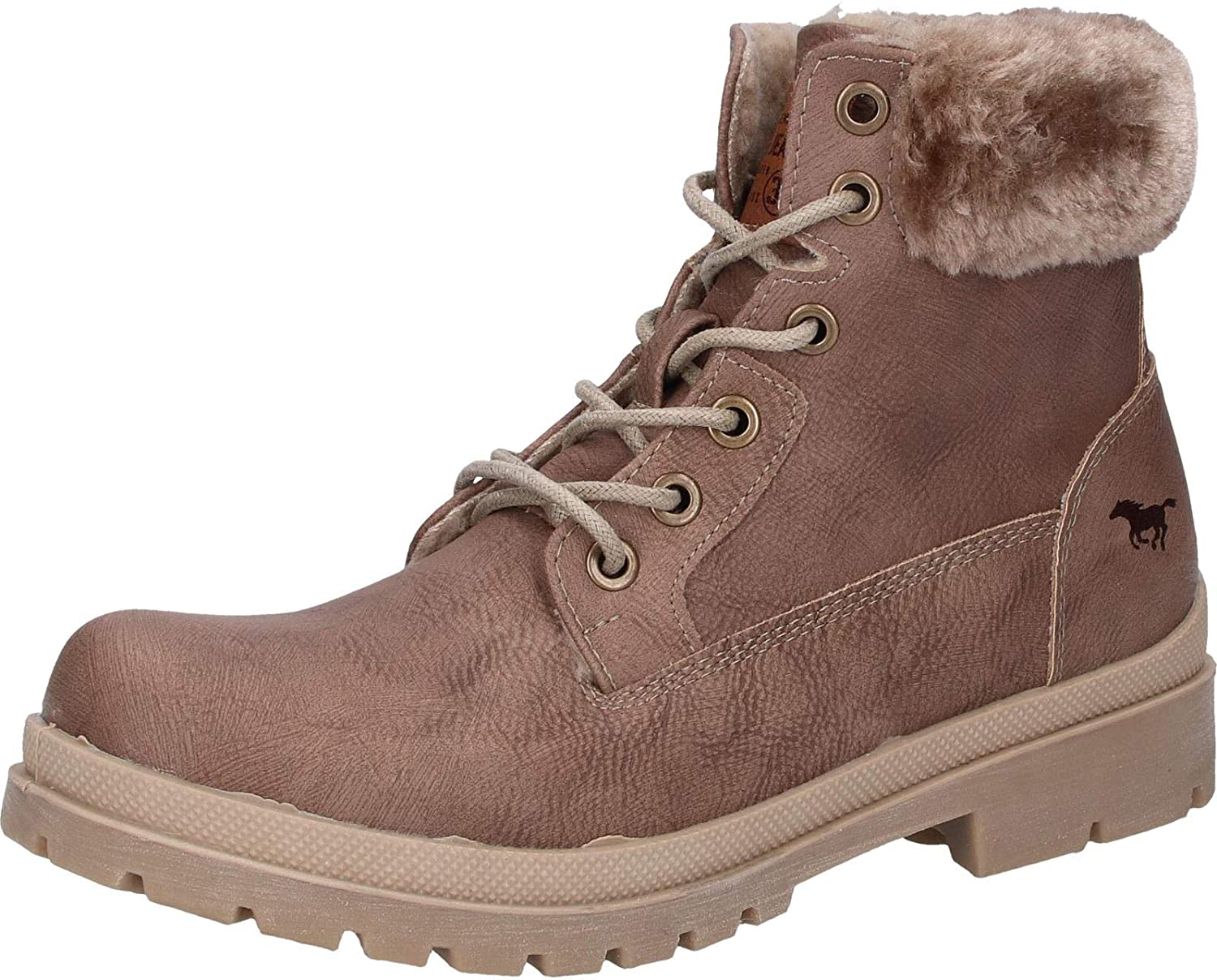 Mustang Femme, 1207-607, Bottes B01LZ95VDX Femme, Gris 1207-607, Marron 1780ed4 - therethere.space