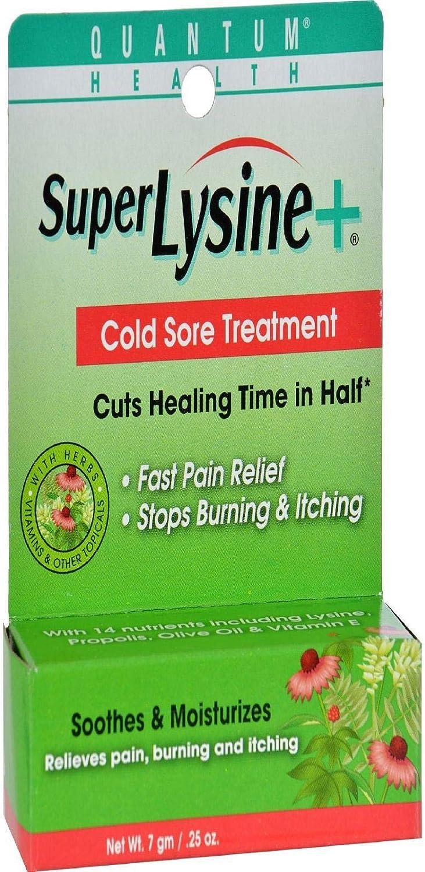 Quantum Super Lysine Plus Cold Sore Treatment Cream - 0.25 Oz: Health & Personal Care