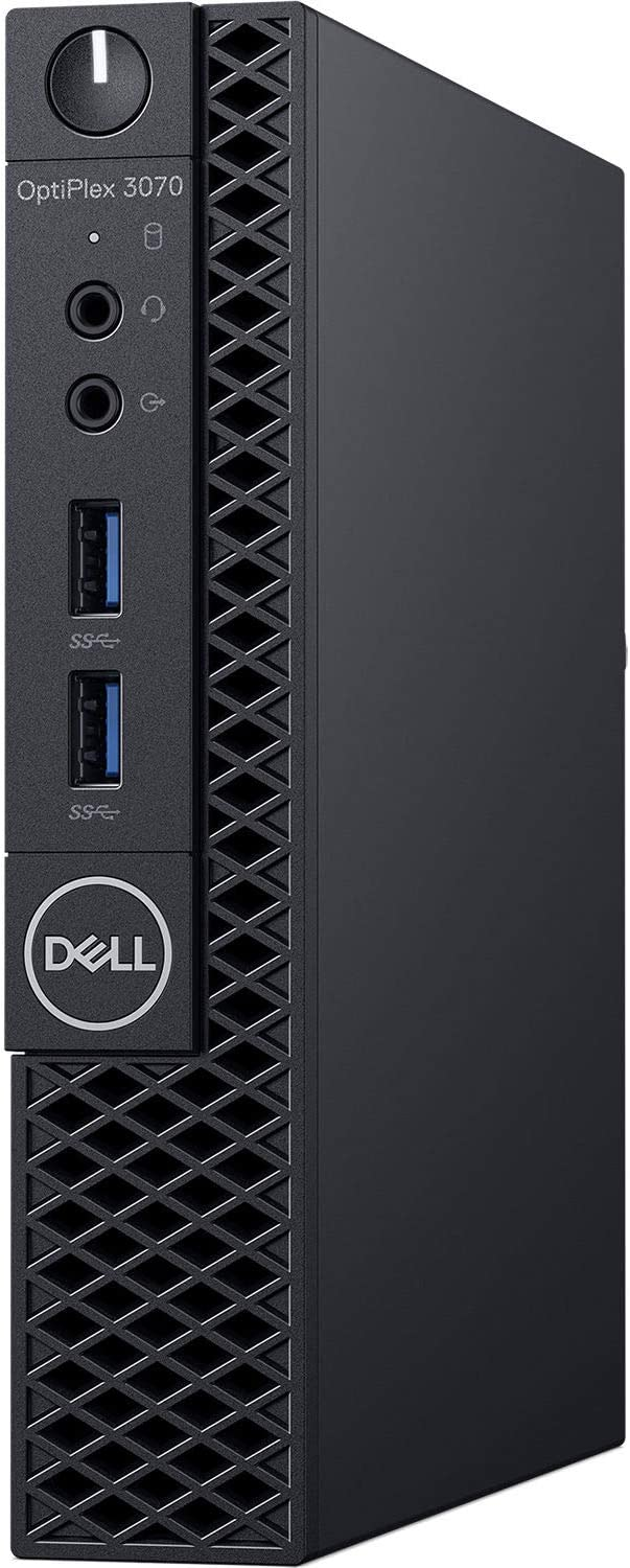 Dell OptiPlex 3070 Desktop Computer - Intel Core i5-9500T - 8GB RAM - 256GB SSD - Micro PC
