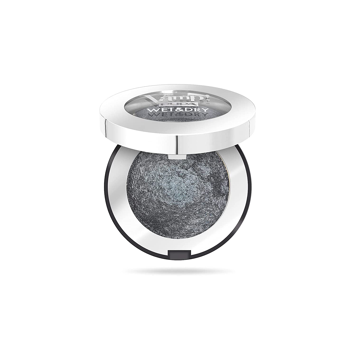 Vamp! Wet and Dry Baked Eyeshadow – 305 Anthracite Grey by Pupa Milano for Women – 0.035 oz Eye Shadow