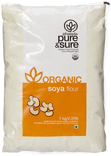 Pure and Sure Organic SOYA Flour, 1kg